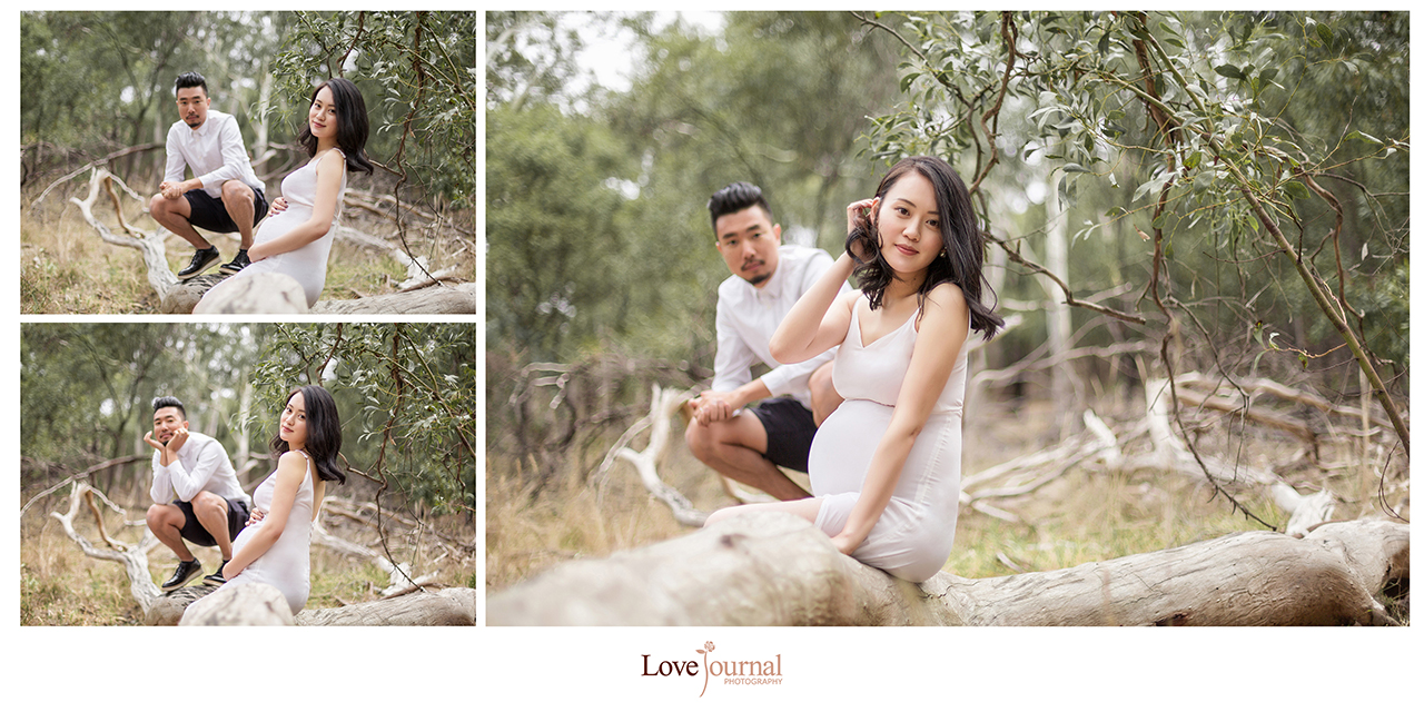 prewedding photography at yarra bend park