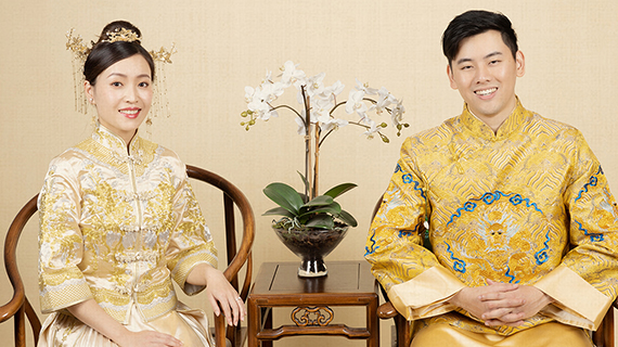 China Style 01 - Classic - Studio Chinese Style Pre-wedding Photography